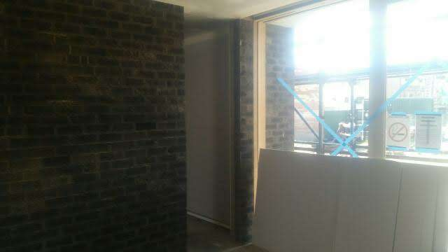 Brick door frame in Albury