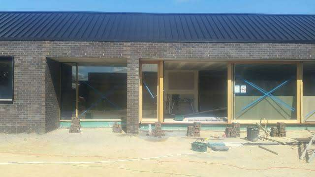 Brick House being constructed in Albury