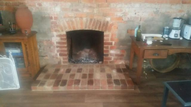 After Chiltern Bricklaying worked on the hearth