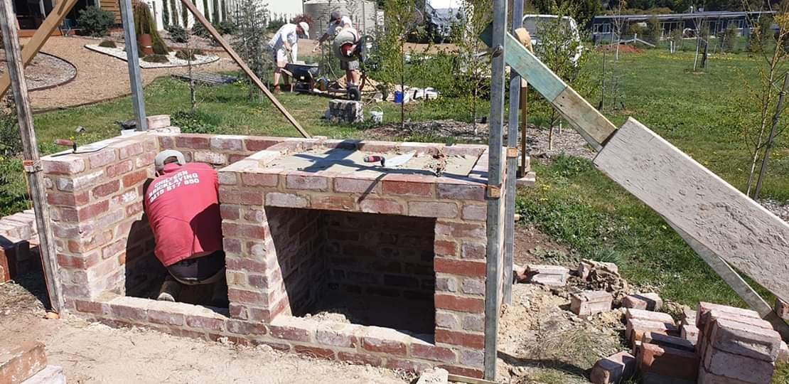 Brick Base construction