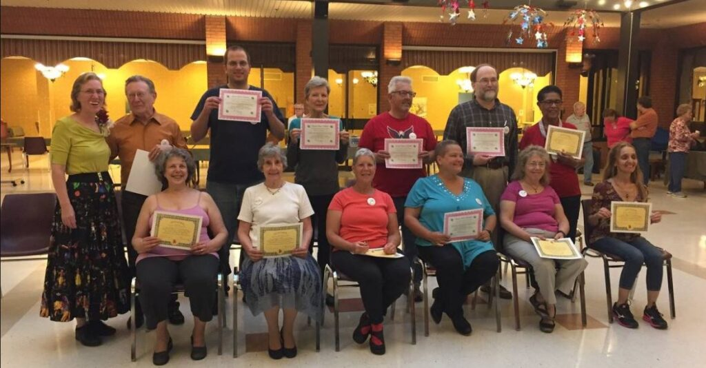 Square Dance Class June 2017