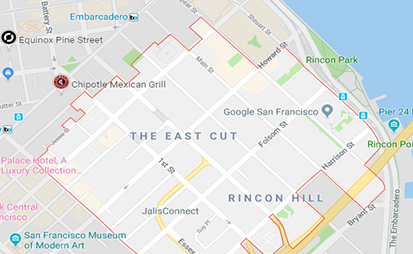 Agents About Google and the Naming of Neighborhoods