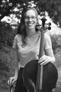Pippa Hoover (black and white, portrait). <br> Photo by Shannon Kelly.