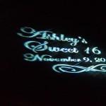wedding dj lights, sweet 16 dance lights, mitzvah light