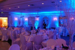 Long Island Wedding DJ, Wedding dj for hire with up lights, Long Island wedding dj with dance lighting, Wedding Gobo dance light