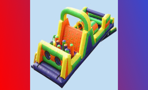 Long Island Inflatable Bounce House Obstacle course, Party Rentals, Kids Party, Moon Bounce