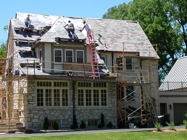 Sharkskin Ultra Slate Roof Illinois