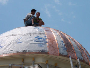 Sharkskin Ultra Copper Roof