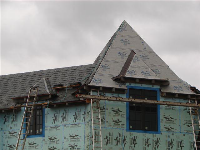 Sharkskin Ultra Slate Roof New York