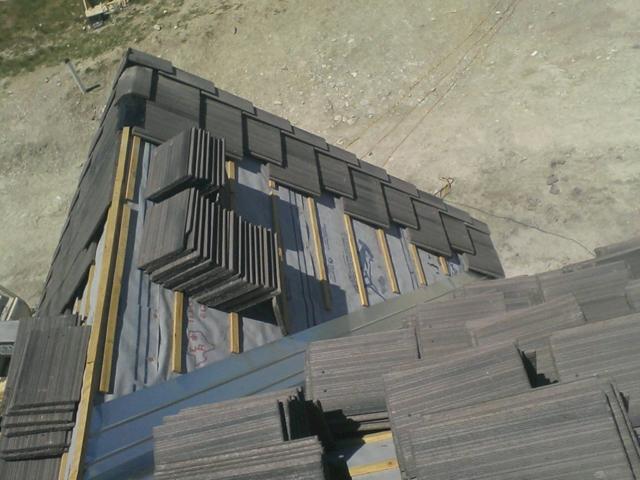 Sharkskin Ultra Flat Tile Roof Texas