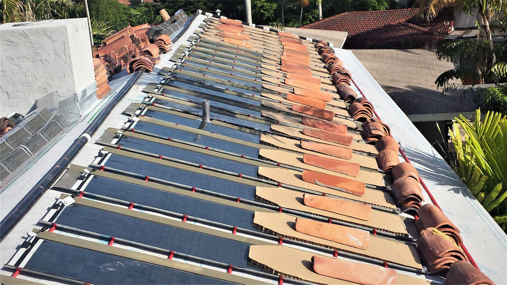 Sharkskin Ultra SA used for Solar PV panel installation