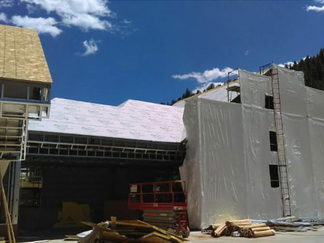 Monarch Casino Colorado Sharkskin Metal Roof