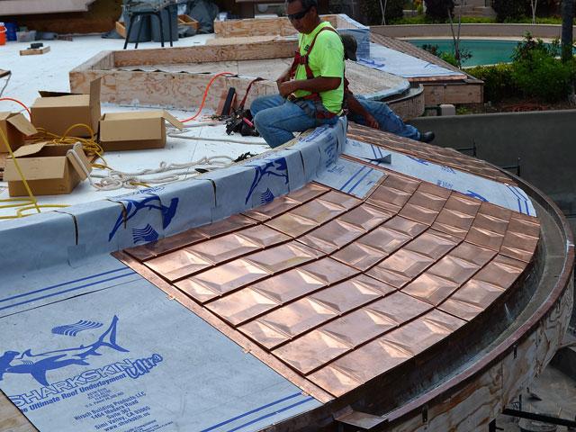 Sharkskin Ultra Copper Roof Hawaii