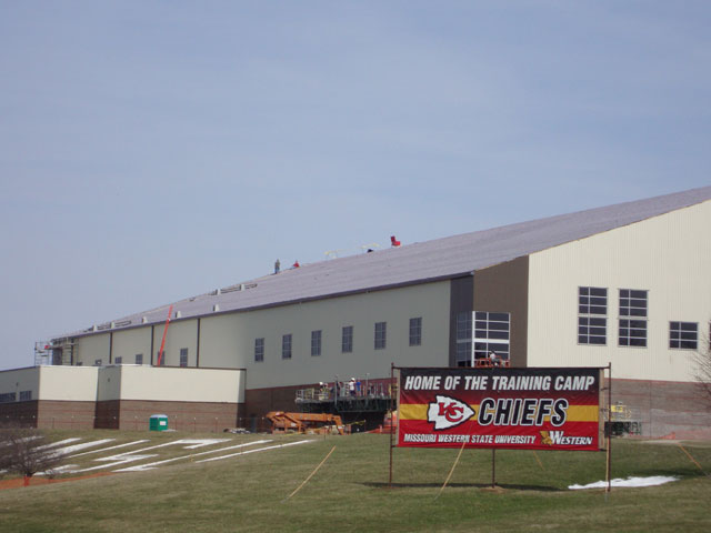 Kansas City Chiefs Practice Facility Sharkskin Comp
