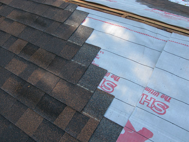 Sharkskin Comp Application Asphalt Shinges
