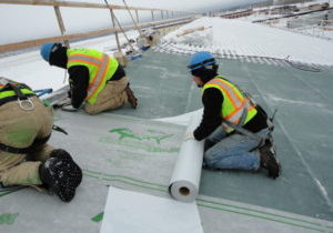 Fort Wainwright Sharkskin Install, Fairbanks, AK