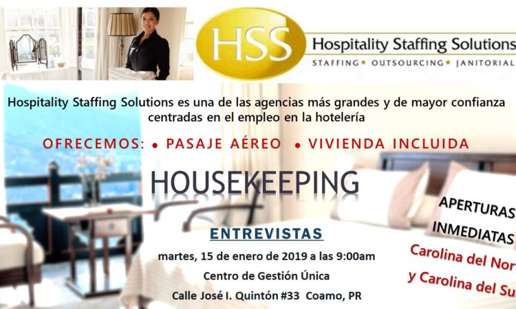 Entrevistas de Empleo HHS - 15 de enero de 2010