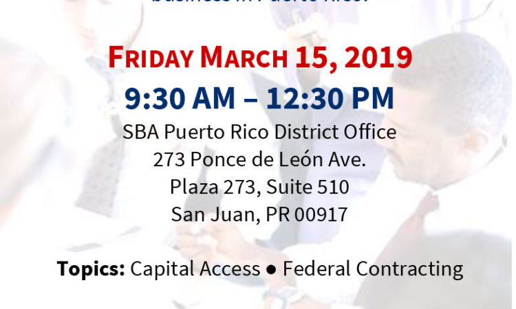 Business Development for Veterans and the Military Community - March 15, 2019