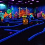 Black Light Mini Golf