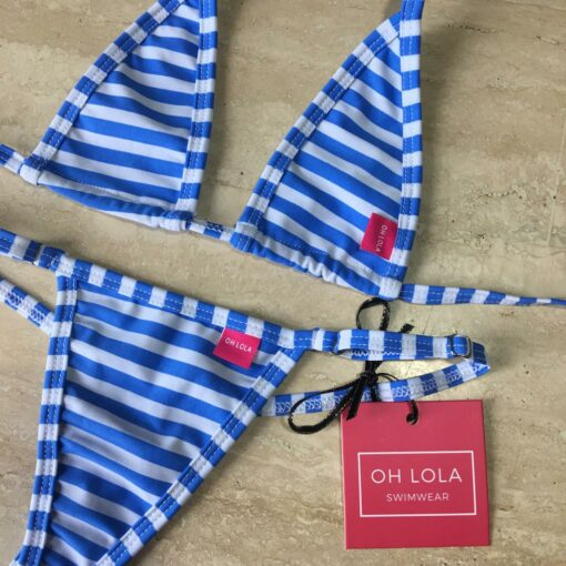 Sailing Angel Micro Bikini By OH LOLA SWIMWEAR