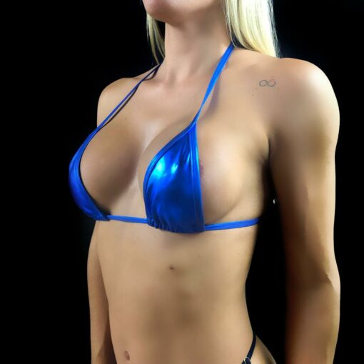 Blue Dream Micro Bikini TOP By OH LOLA SWIMWEAR