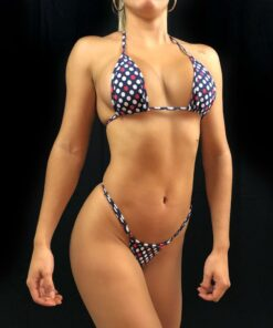 Freedom Dots Micro Bikini By OH LOLA SWIMWEAR