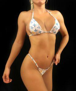 Jolie Micro Bikini By OH LOLA SWIMWEAR