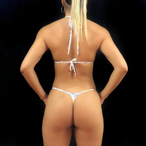 Jolie Micro Bikini (Back) By OH LOLA SWIMWEAR