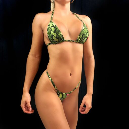 DRAGON SKIN BIKINI BY OH LOLA SWIMWEAR