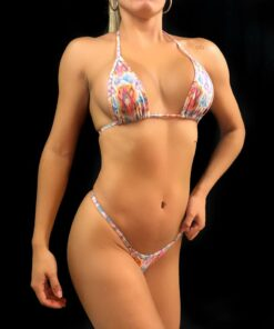 Aztec Dream Micro Bikini By OH LOLA SWIMWEAR
