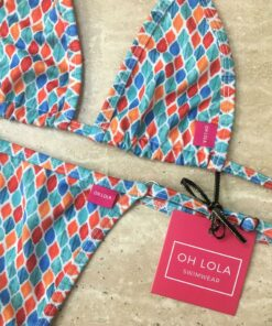 Gemstones Micro Bikini By OH LOLA SWIMWEAR