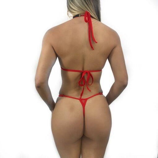 Inferno Micro Bikini By OH LOLA SWIMWEAR - Back