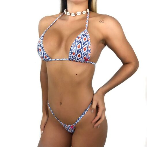 Navajo Micro Bikini By OH LOLA SWIMWEAR