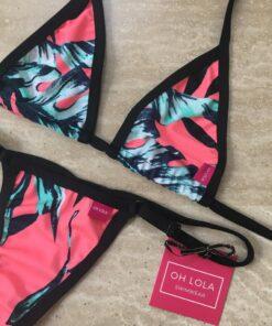Tropic Sin Micro Bikini by OH LOLA SWIMWEAR