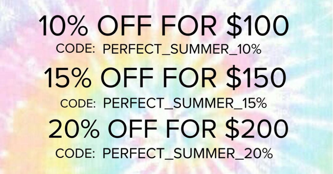 Promo Codes to enjoy the perfect summer!