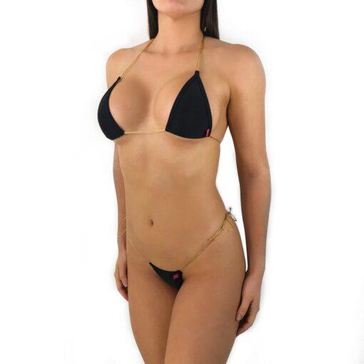 Desire String Micro Bikini By OH LOLA SWIMWEAR
