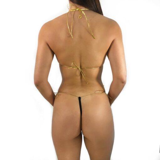 Desire String Micro Bikini By OH LOLA SWIMWEAR - Side Adjustable G-String
