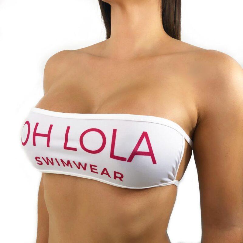 OH LOLA SWIMWEAR Bandeau Micro Bikini - Bandeau Top