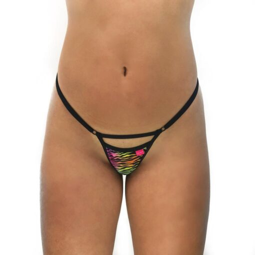 Naughty Prey Micro Bikini by OH LOLA SWIMWEAR - Front