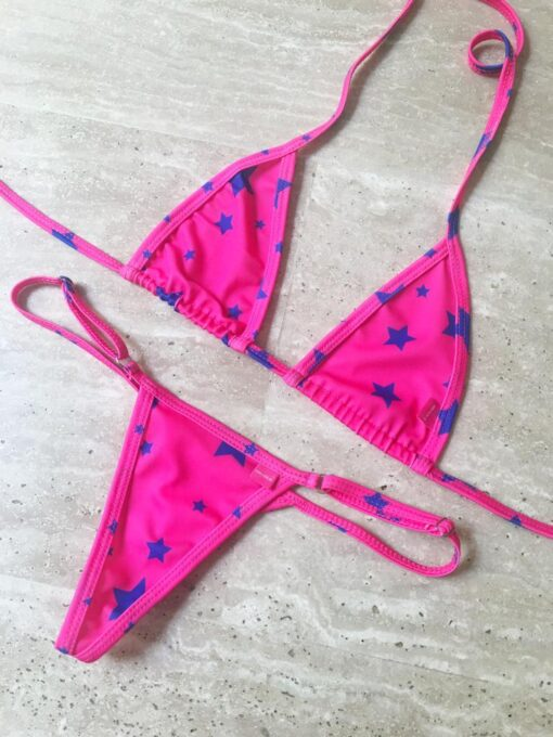 Andromeda Micro Bikini by OH LOLA SWIMWEAR