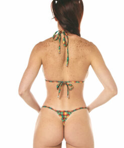 Collins Micro Bikini - Side Adjustable V-String - REAR