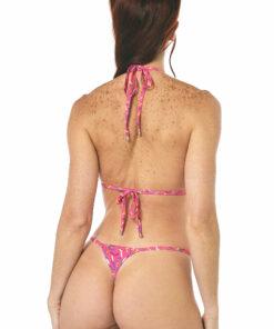 Sprinkles Micro Bikini - Side Adjustable V-String - REAR