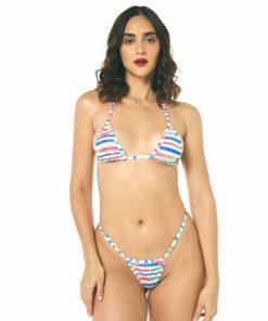 Cotton Candy Micro Bikini by OH LOLA SWIMWEAR