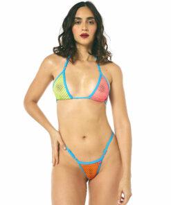 Temptation Party Micro Bikini by OH LOLA SWIMWEAR