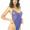 Lola One-Piece Micro Bikini by OH LOLA SWIMWEAR