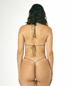 Sprinkles String Micro Bikini by OH LOLA SWIMWEAR - REAR