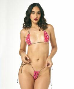 Sprinkles String Micro Bikini by OH LOLA SWIMWEAR