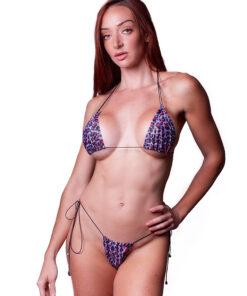 Hypnotic Micro Bikini by OH LOLA SWIMWEAR