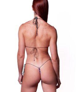 Hypnotic Micro Bikini by OH LOLA SWIMWEAR - REAR