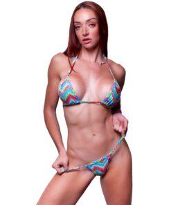 Nassau Micro Bikini by OH LOLA SWIMWEAR - FRONT